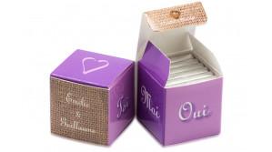 Double Cube thème Ultraviolet