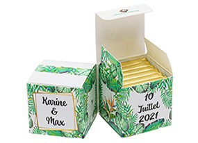 Double Cube thème Tropical
