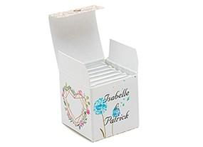 Cube simple thème Floral