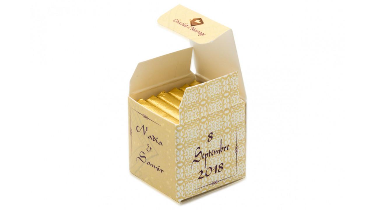 Cube simple thème Oriental