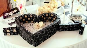 Double Cube bicolore liserès