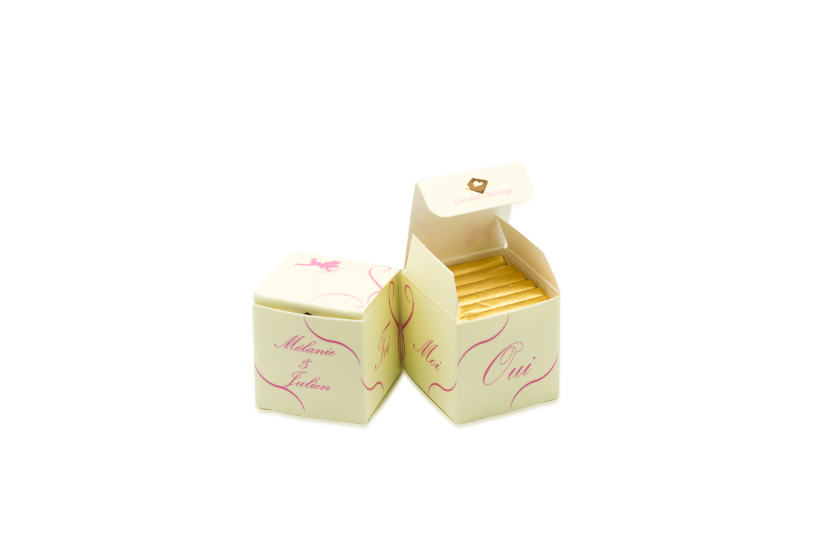 double cube bicolore liseres