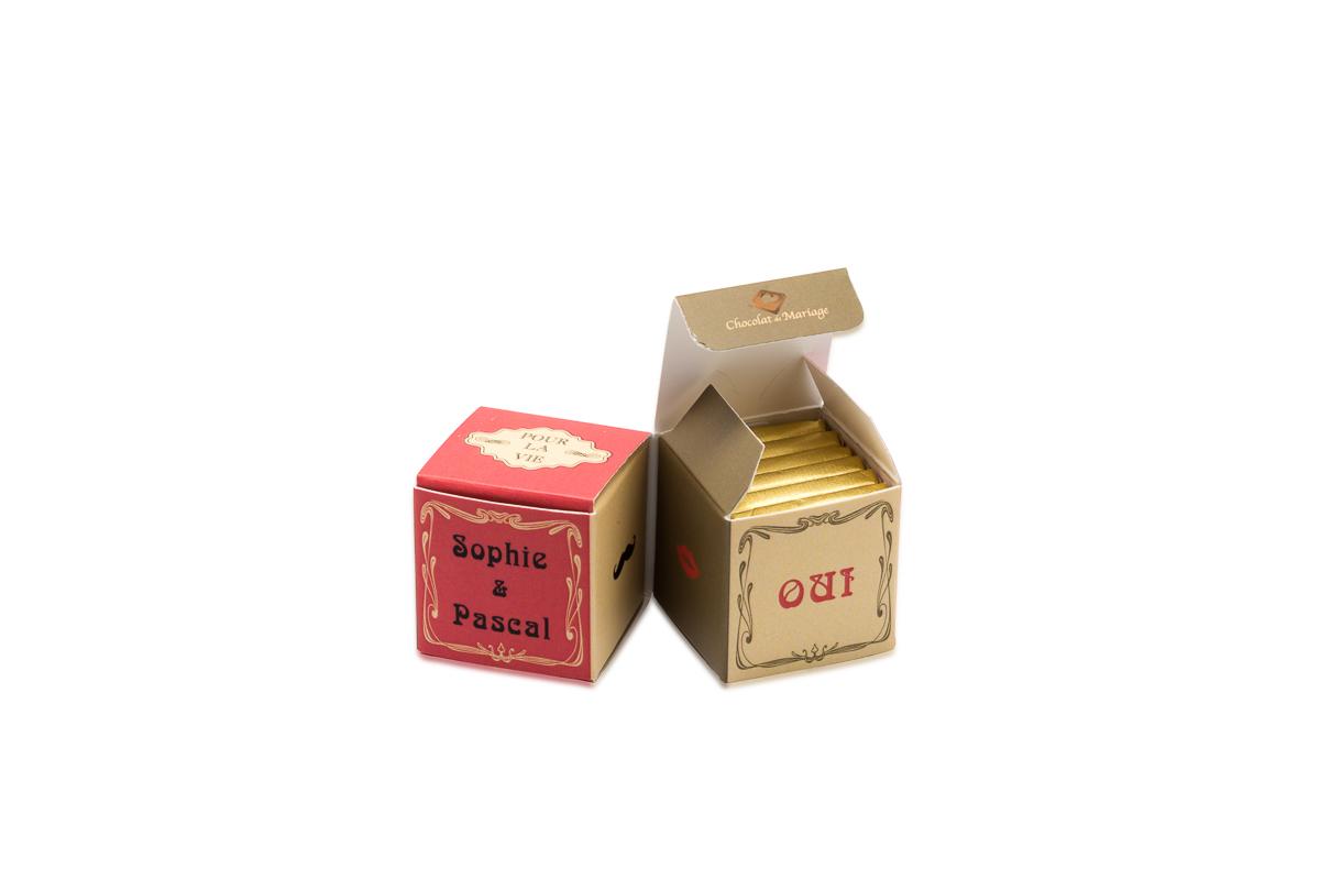 double cube theme vintage